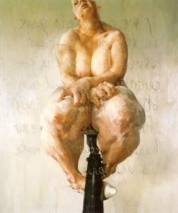 Propped - 1992 - Jenny Saville