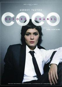 "Cartaz do filme ""Coco before Chanel"""