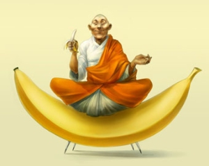 Bananas celestiais