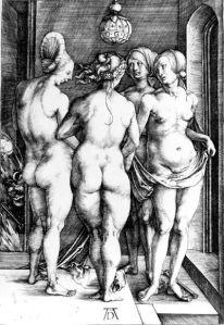 As quatro bruxas de Albrecht Dürer (1497)